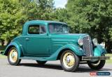 Classic 1935 Chevrolet Other 3 WINDOW COUPE for Sale