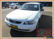 2004 Ford Falcon BA XT White Automatic 4sp A Wagon for Sale
