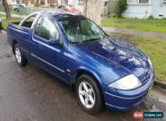 2000 Ford Falcon AU XL Automatic 4sp A Utility for Sale
