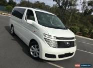 2004 Nissan Elgrand NE51 White Automatic 5sp A Wagon for Sale