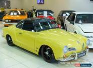 1961 Volkswagen Karmann Ghia Ghia Yellow Manual 4sp M Coupe for Sale
