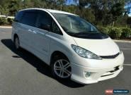 2004 Toyota Estima ACR30 AERAS G Edition White Automatic 4sp A Wagon for Sale