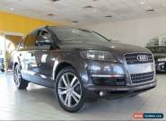 2008 Audi Q7 MY07 7SEATER FSI Quattro Charcoal Automatic A Wagon for Sale