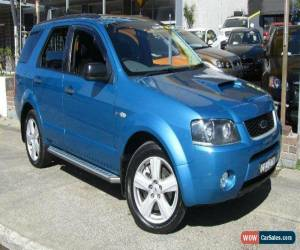 Classic 2006 Ford Territory SY Turbo (4x4) Blue Automatic 6sp A Wagon for Sale