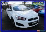 Classic 2012 Holden Barina TM White Manual 5sp M Sedan for Sale