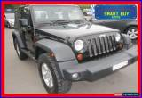 Classic 2007 Jeep Wrangler JK Sport (4x4) Black Automatic 4sp A Softtop for Sale