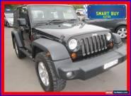 2007 Jeep Wrangler JK Sport (4x4) Black Automatic 4sp A Softtop for Sale