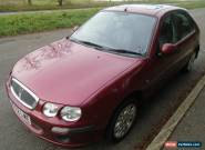 2003 ROVER 25 IXL RED **LOW MILEAGE** for Sale