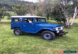 Classic Toyota: Land Cruiser for Sale