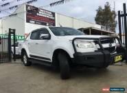 2012 Holden Colorado RG LTZ (4x4) White Automatic 6sp A Crewcab for Sale