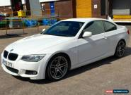 2011/61 BMW 320D M SPORT Diesel 2dr Coupe 181bhp Manual White E92 3 Series for Sale