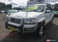 2003 Toyota Landcruiser KZJ120R Prado GXL (4x4) White Manual 5sp M Wagon for Sale