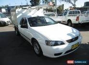 2006 Ford Falcon BF XL White Automatic 4sp A Cab Chassis for Sale