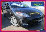 Classic 2009 Mazda 3 BL SP25 Black Automatic 5sp A Hatchback for Sale