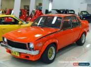 1974 Holden Torana LH SL Orange Automatic 3sp A Sedan for Sale