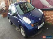 2004 NISSAN MICRA S BLUE for Sale