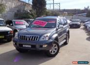 2003 Toyota Landcruiser Prado GRJ120R Grande (4x4) Grey Automatic 4sp A Wagon for Sale