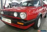 Classic VW GOLF MK2 GTI 16V 1992 K REG for Sale
