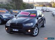 2009 BMW X6 E71 xDrive 50I Black Automatic 6sp A Coupe for Sale