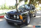 Classic 1989 BMW 6-Series for Sale