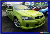 Classic 2007 Holden Commodore VE SV6 Yellow Automatic 5sp A Utility for Sale