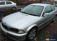 2001 BMW 320CI SILVER for Sale
