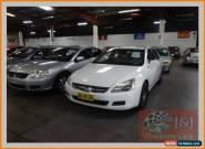 2005 Honda Accord 40 V6 White Automatic 5sp A Sedan for Sale