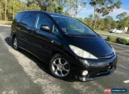 2003 Toyota Estima ACR30 AERAS S L Black Automatic 4sp A Wagon for Sale