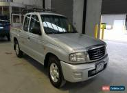 2004 Mazda B2600 Bravo DX Silver Manual 5sp M FREESTYLE PUP for Sale