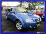 2004 Ford Territory SX Ghia (RWD) Blue Automatic 4sp A Wagon for Sale