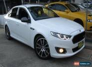 2015 Ford Falcon FG X XR6T White Automatic 6sp A Sedan for Sale