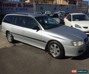 Classic 2004 Holden Commodore VZ Executive Silver Automatic 4sp A Wagon for Sale
