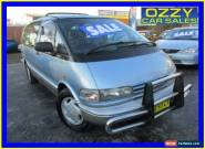 1992 Toyota Tarago TCR11R GLX Blue Automatic 4sp A Wagon for Sale