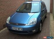 FORD FIESTA GHIA 1.4 5dr Hatchback Service history inc recent cambelt NO RESERVE for Sale