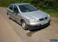 1998 VAUXHALL ASTRA LS 8V AUTO SILVER - SPARES OR REPAIR for Sale