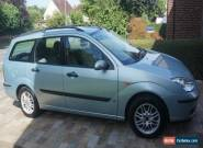 2003 (53) FORD FOCUS 1.6 LX AUTO AUTOMATIC GREEN / SILVER PETROL for Sale