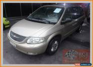 2002 Chrysler Voyager RG SE Gold Automatic 4sp A Wagon for Sale