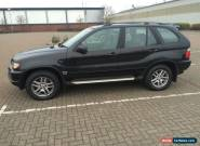 2002 (52) BMW X5 3.0D SPORT AUTOMATIC DIESEL - SPARE OR REPAIRS FSH for Sale