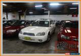 Classic 2002 Subaru Outback MY03 H6 Luxury White Automatic 4sp A Wagon for Sale