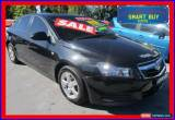 Classic 2010 Holden Cruze JG CD Black Manual 5sp M Sedan for Sale