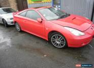 2001 TOYOTA CELICA VVTI RED for Sale