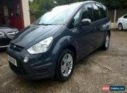 2012 FORD S-MAX 2.0TDCi DIESEL  ZETEC MANUAL for Sale