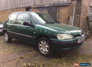 2001 PEUGEOT 106 INDEPENDENCE GREEN for Sale
