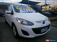 2012 Mazda 2 DE MY12 Maxx White Automatic 4sp A Hatchback for Sale