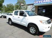 2008 Toyota Hilux GGN25R 07 Upgrade SR (4x4) White Automatic 5sp A for Sale