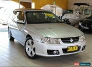 2007 Holden Commodore VZ SVZ Silver Automatic 4sp A Wagon for Sale