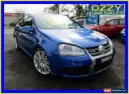 2006 Volkswagen Golf 1K R32 Blue Automatic 6sp A Hatchback for Sale
