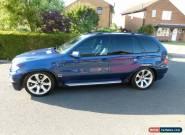 2004 BMW X5 4.8  AUTO LE MANS BLUE LOW MILEAGE SPARES REPAIR  for Sale