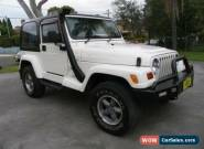 1999 Jeep Renegade TJ Sport (4x4) White Automatic 3sp A Hardtop for Sale