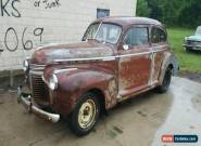 1941 Chevrolet Master Deluxe 2 door sedan for Sale